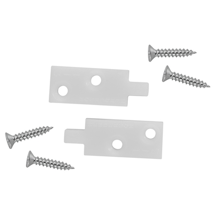 Nylon guides for floor channel (pair)