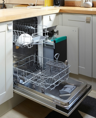 Lamona slimline fully integrated dishwasher