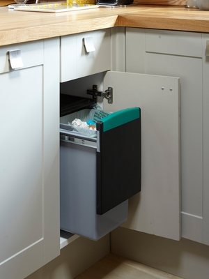 30 litre pull-out recycling bin