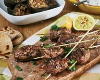 Spiced lamb koftas