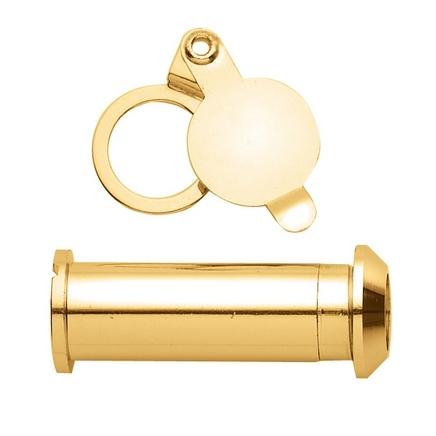 Brass door viewer