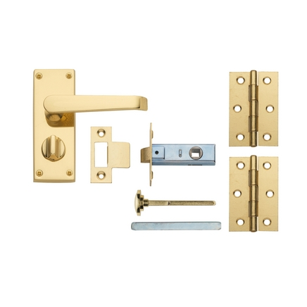 Brass privacy pack