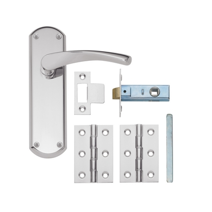Chrome Latch Pack