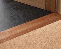 Hardwood threshold strips