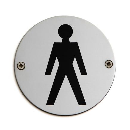 Gents (emblem) sign