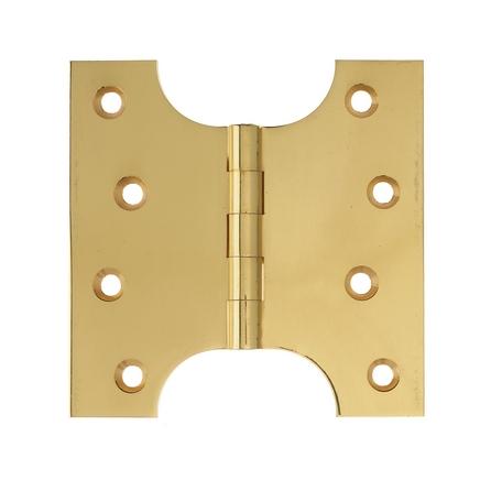 Brass parliament hinge