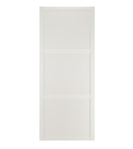 White Shaker panel door