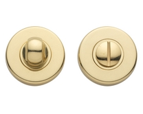 Brass bathroom turn