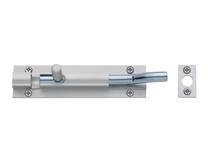 Aluminium necked barrel bolt