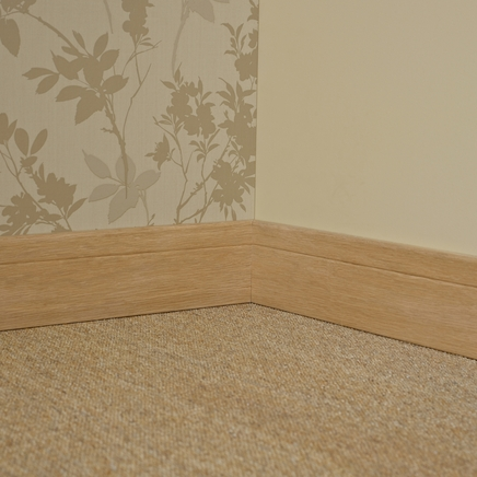Burford Oak veneered Contemporary skirting