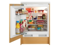 Lamona built-under integrated larder fridge & freezer