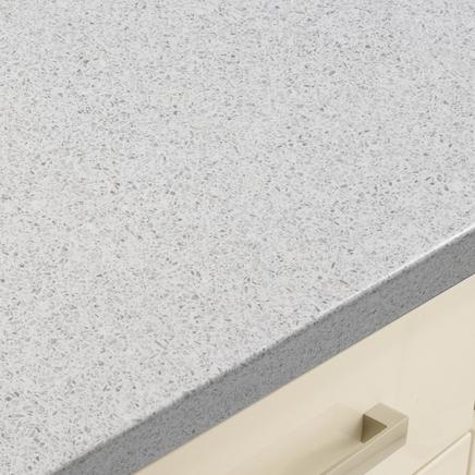 Quartzstone White Smooth worktop