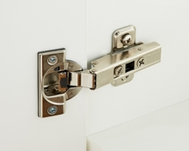 Soft close hinges for standard kitchens