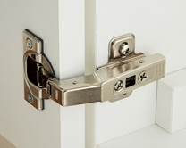 Soft close curved door hinge pack