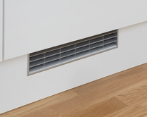 Stainless Steel Effect plinth vent