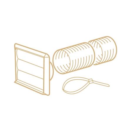 Flexible ducting kit