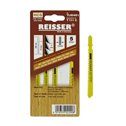 Resisser (T111C) for wood and board materials 5-50mm (Pack of 5)