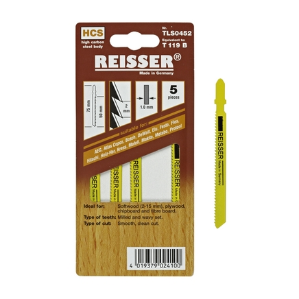 Reisser (T119B) for softwood, plywood, chipboard and fibreboard 2-15mm (Pack of 5)