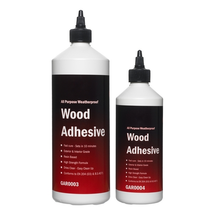 Howdens Joinery waterproof adhesive 1 litre & 500ml