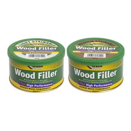 2 part stainable wood filler 500g