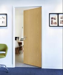 Oak foil door
