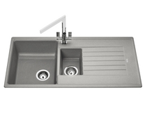 Lamona Grey granite composite 1.5 bowl sink