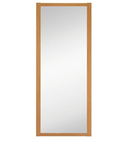 Oak Shaker mirror door