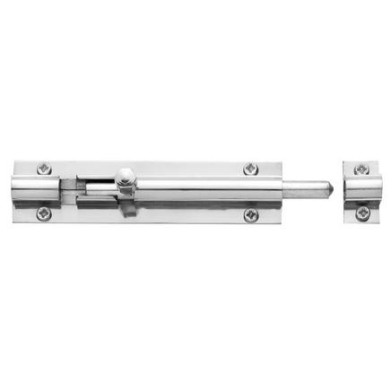 Chrome barrel bolt