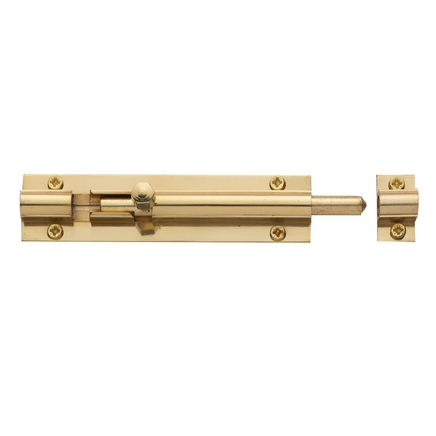 Brass barrel bolt