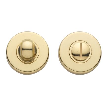 Brass bathroom turn