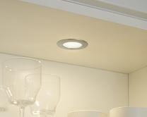 LED Flush/surface mounted circular downlighters
