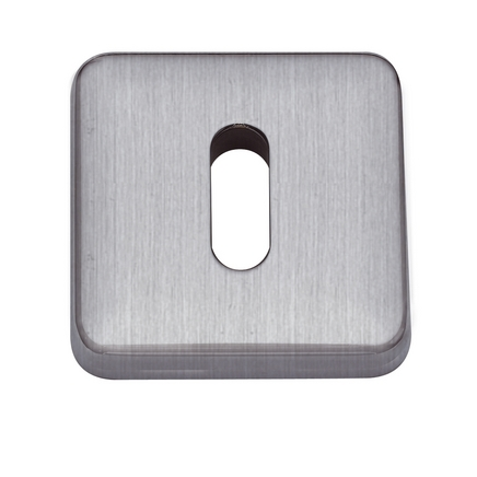 Satin Nickel square escutcheon