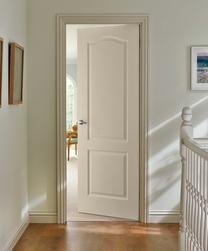Arched Top grained door