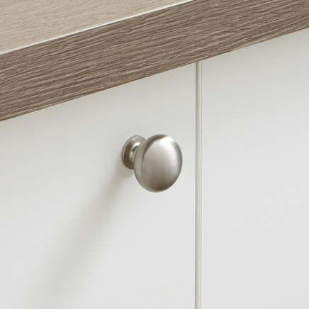 Stainless Steel Effect knob handle