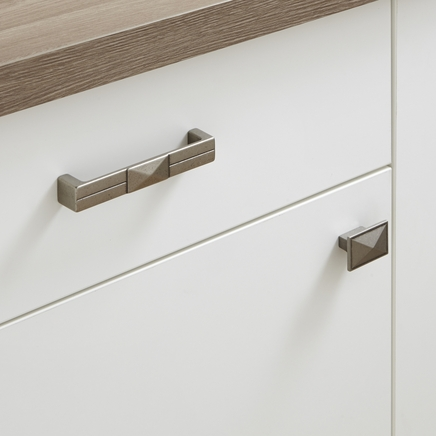 Traditional Pewter Effect handles