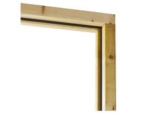 Assembled softwood door frames
