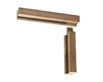 Unassembled hardwood door frames