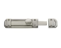 Satin Nickel heavy duty bolt
