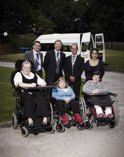 Image of the Orchard Care Home team