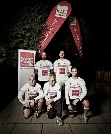 The Howdens team at the Dambusters run