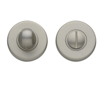 Satin Nickel bathroom turn