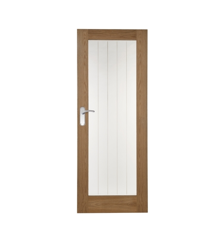 Genoa Oak glazed door