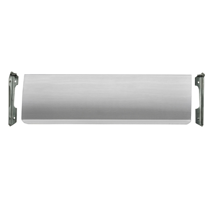 Satin Nickel door tidy