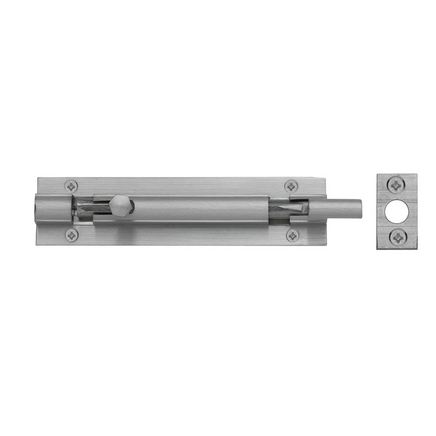 Satin Nickel Necked Barrel Bolt Door Bolts Howdens Joinery
