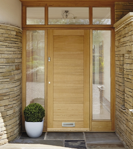 External linear oak door external hardwood doors doors for External hardwood doors