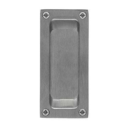 Satin Nickel flush handle