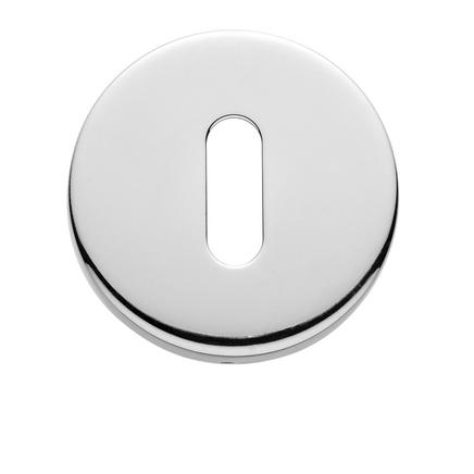 Chrome round escutcheon