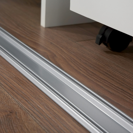 sliding wardrobe door track