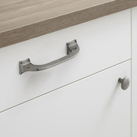 Solid Pewter decorative handles