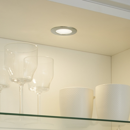 LED Flush circular downlighters